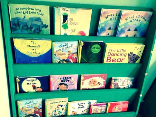 A selection of books in the One for One Book Scheme (Malaysia)