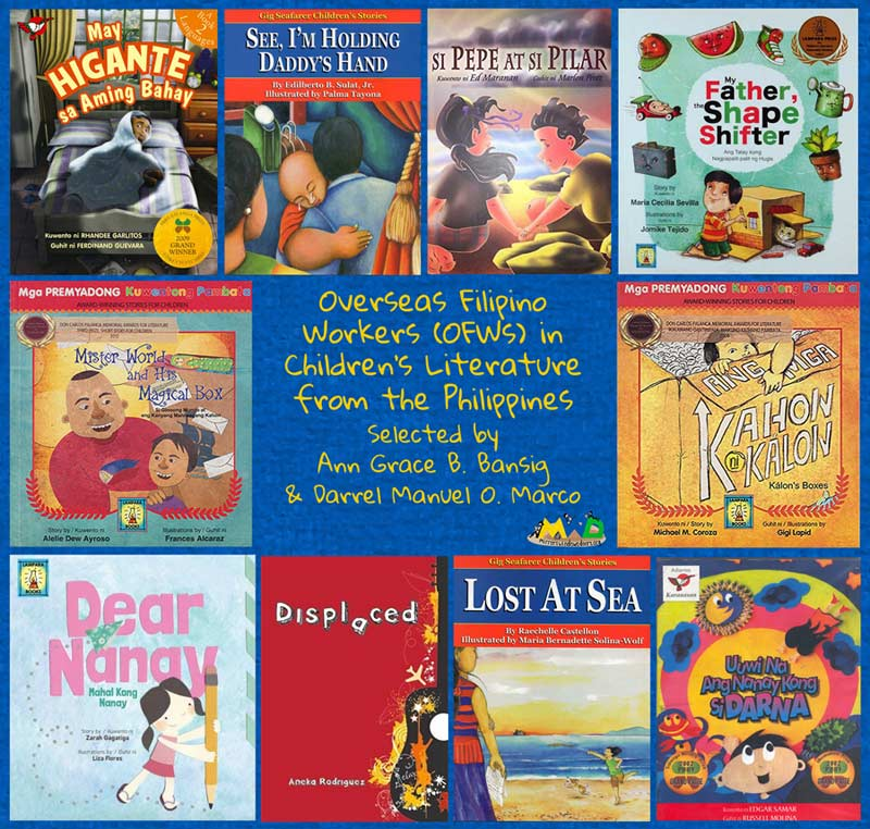 OFWs (Overseas Filipino Workers): 10 children's books from the Philippines