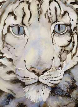 The Snow Leopard, by Jackie Morris (Frances Lincoln, 2004)