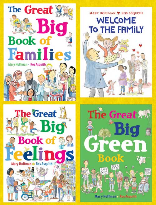 The Great Big Book Of... series by Mary Hoffman and Ros Asquith