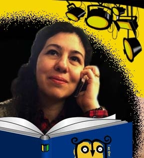 Delaram Ghanimifard, co-founder of Tiny Owl Publishing, in the MWD Spotlight