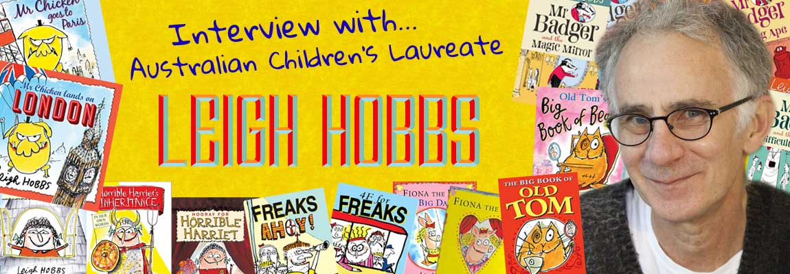 MWD Interview - Australian Children's Laureate Leigh Hobbs