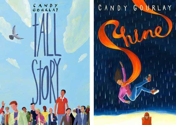 Tall Story, and Shine by Candy Gourlay
