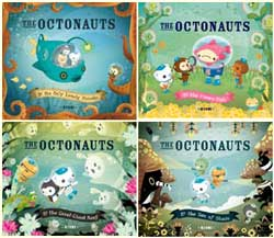 First four books in the Octonauts series, published by Immedium