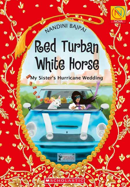 Red Turban White Horse by Nandini Bajpai