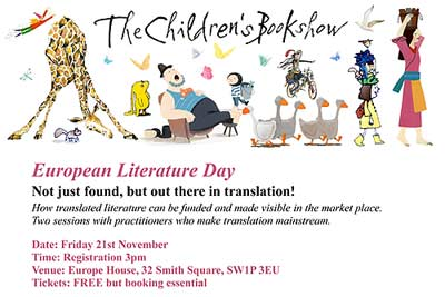 Translation Event - London, 21 November 2014