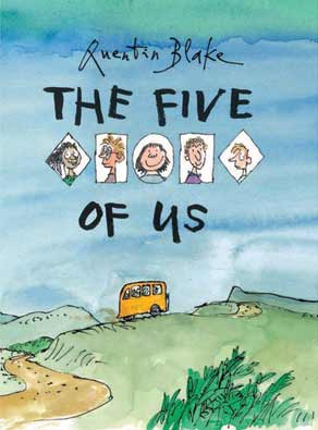 The Five of Us, by Quentin Blake (Tate Publishing, 2014)